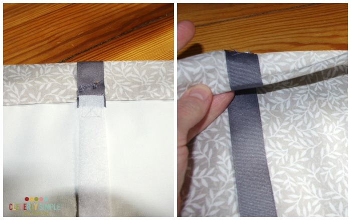 How to sew roman shade homemade