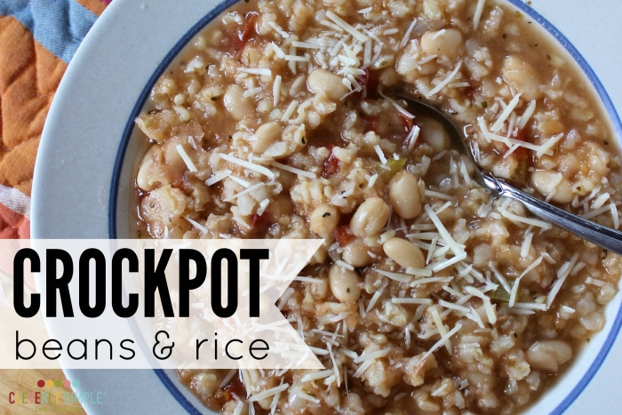 best tasting crockpot beans and rice