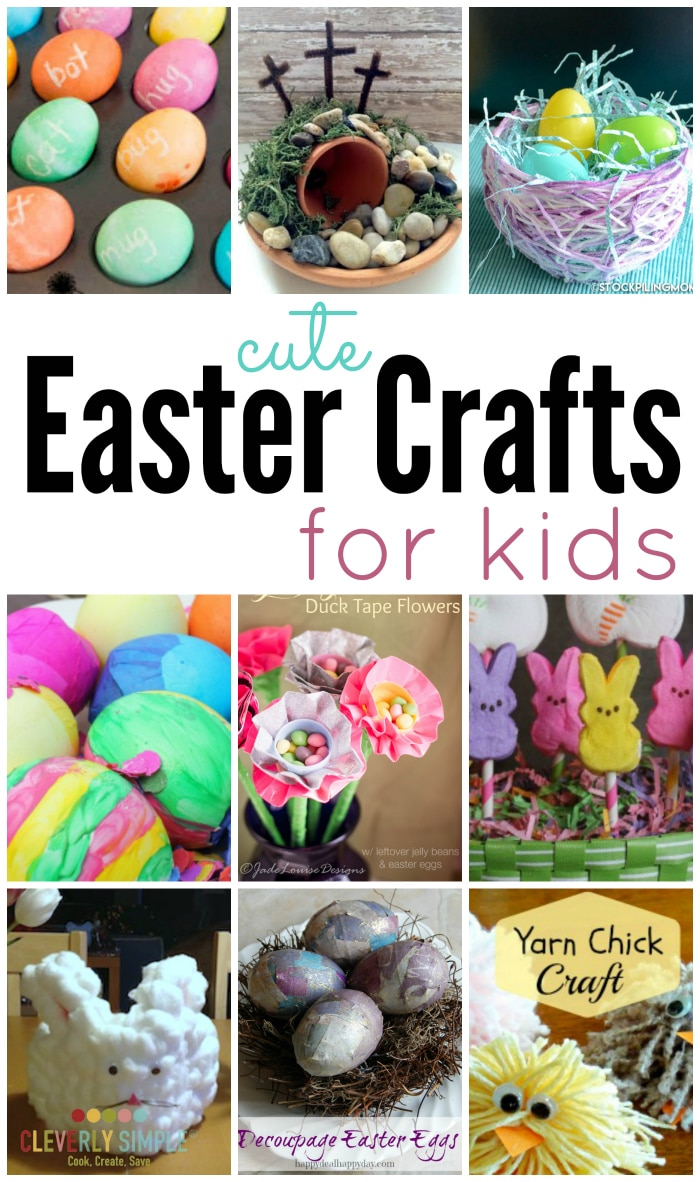 cute easter crafts for kids cleverly simple recipes