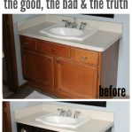 how to gel stain cabinets does it work