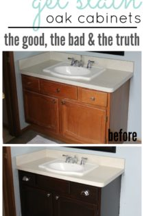 How to Gel Stain Cabinets – The Good, The Bad and The Truth