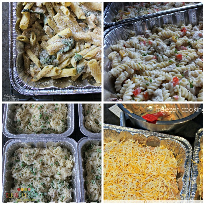 freezer cooking meals with chicken