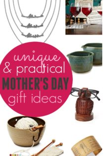 Unique & Practical Gifts For Mother's Day