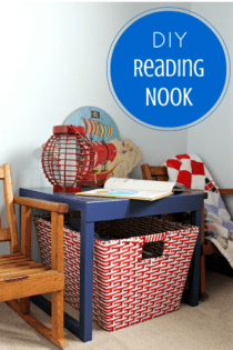 DIY Reading Nook