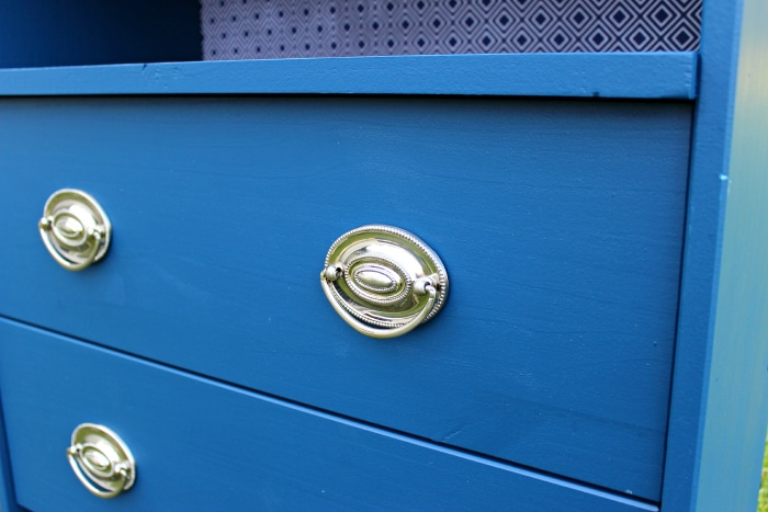 hickory hardware on ikea rast dresser