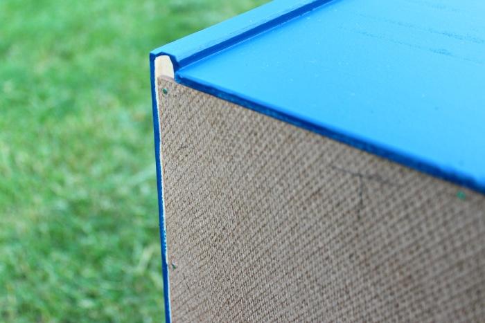 how to add fabric back shelf to ikea rast