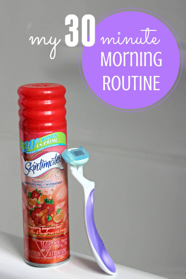my 30 minute morning routine