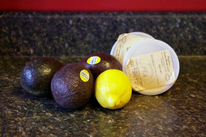 simple guacamole recipe ingredients