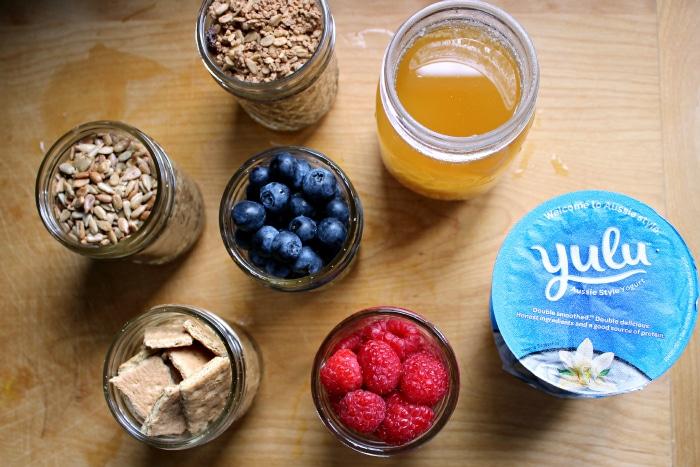 Yogurt Bar for Guests