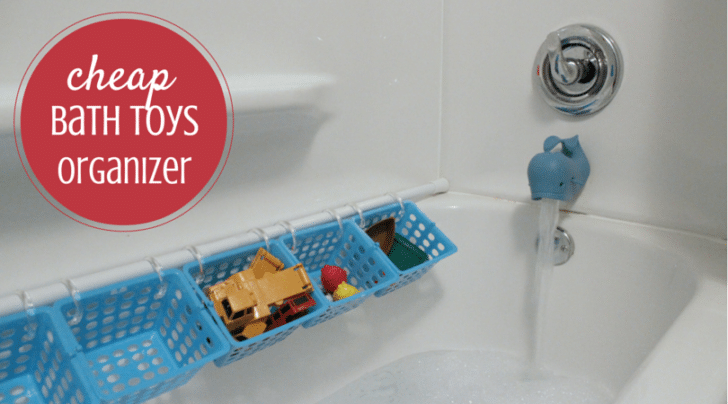 cheap bath toys organizer