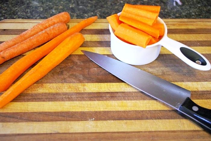 garden carrot soup
