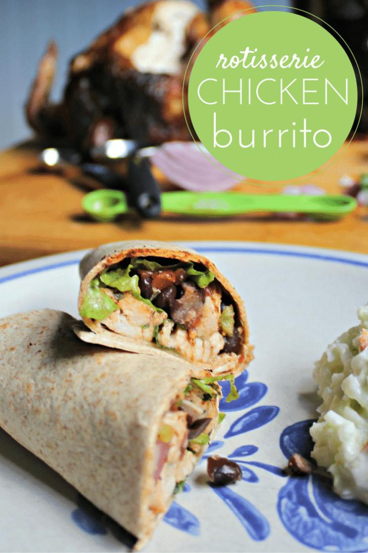 rotisserie chicken burrito