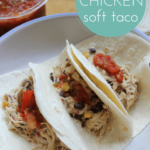 slow cooker taco filling chicken easy