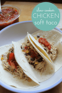 Easy Chicken Slow Cooker Taco Filling