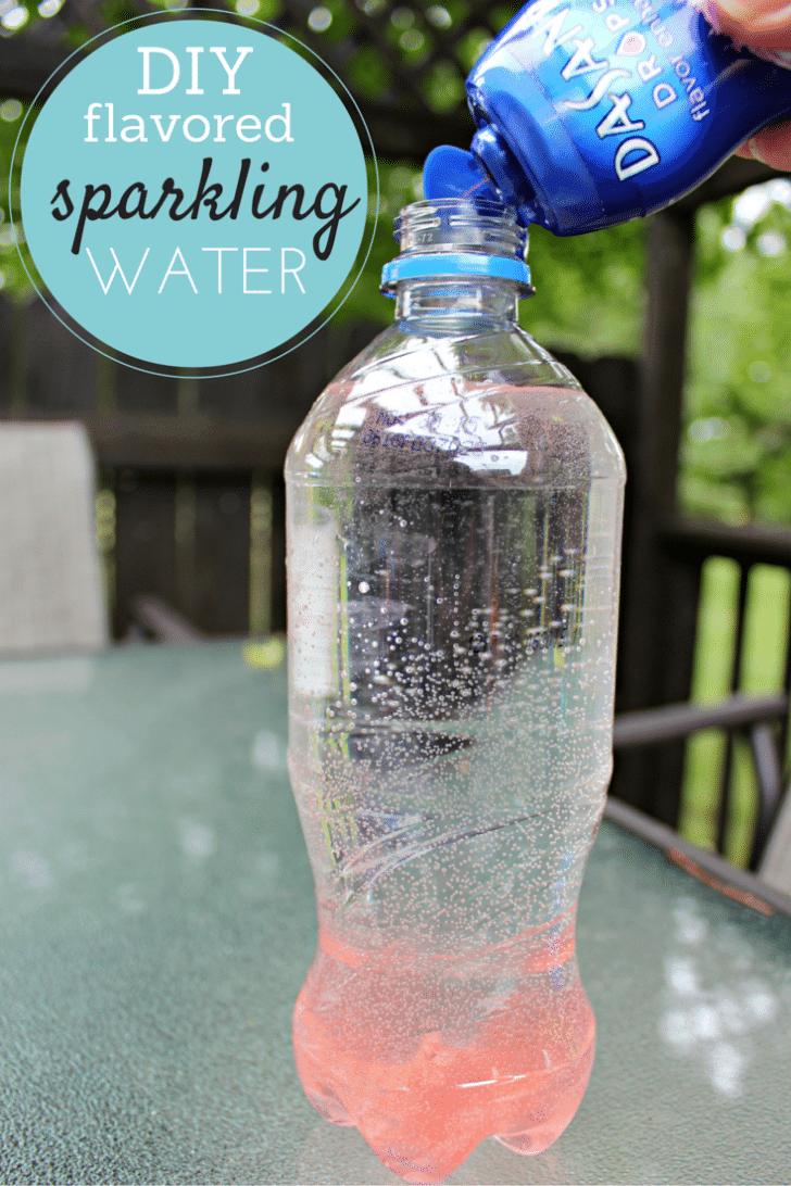 DIY sparkling water