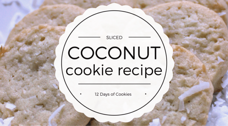 Coconut Cookie Recipe