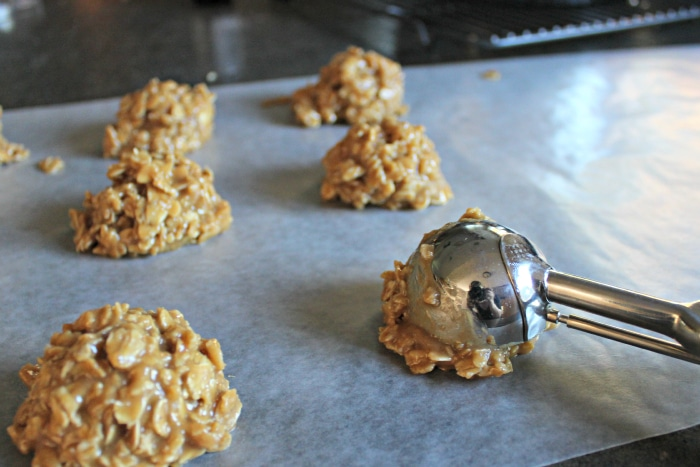 No bake cookie recipe with peanut butter