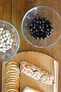 Easy & Fast Appetizer with Brookside Chocolate (Plus, a giveaway!)