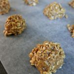 peanut butter no bake oatmeal cookies