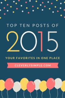 Cleverly Simple Top 10 of 2015
