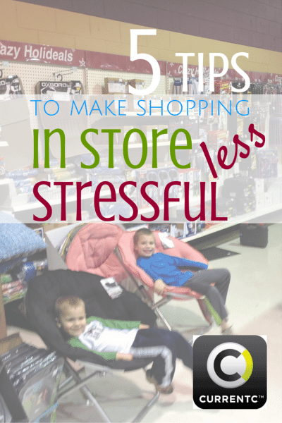 tips to make shopping less stressful