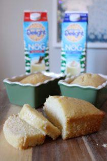 Eggnog Rum Cake Recipe