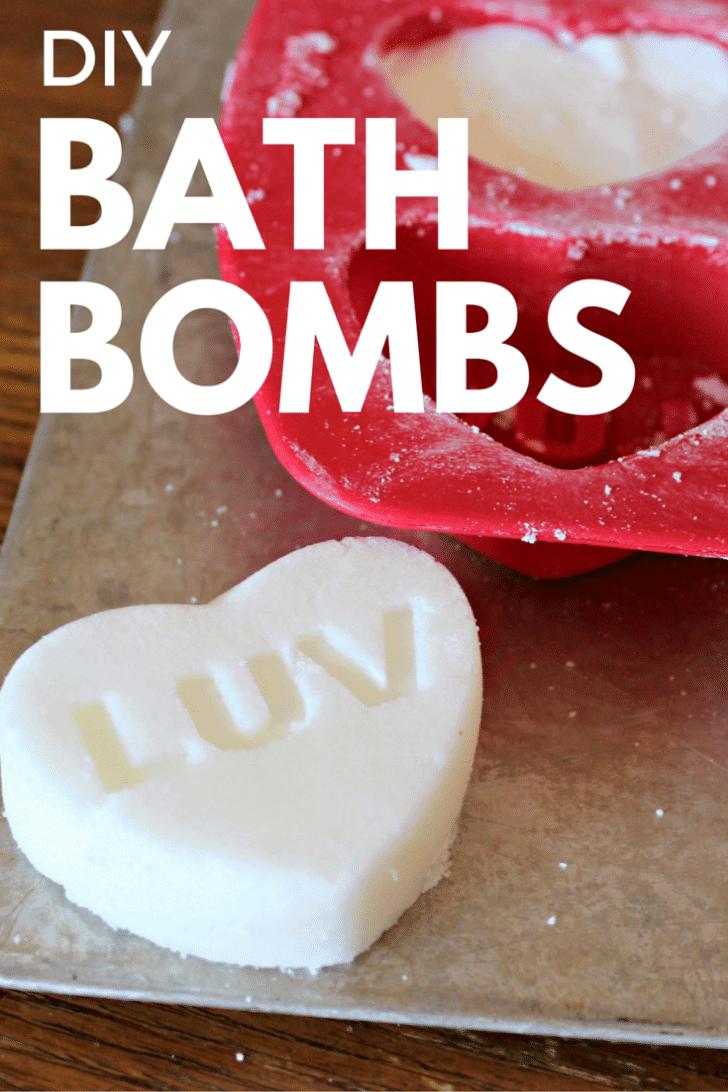 DIY homemade Bath Bombs
