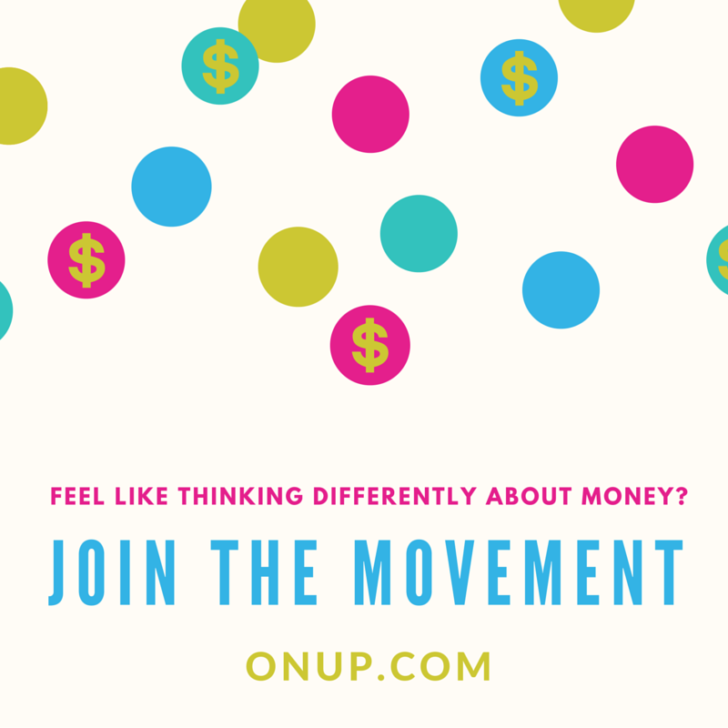 Feel like thinking differently about money-