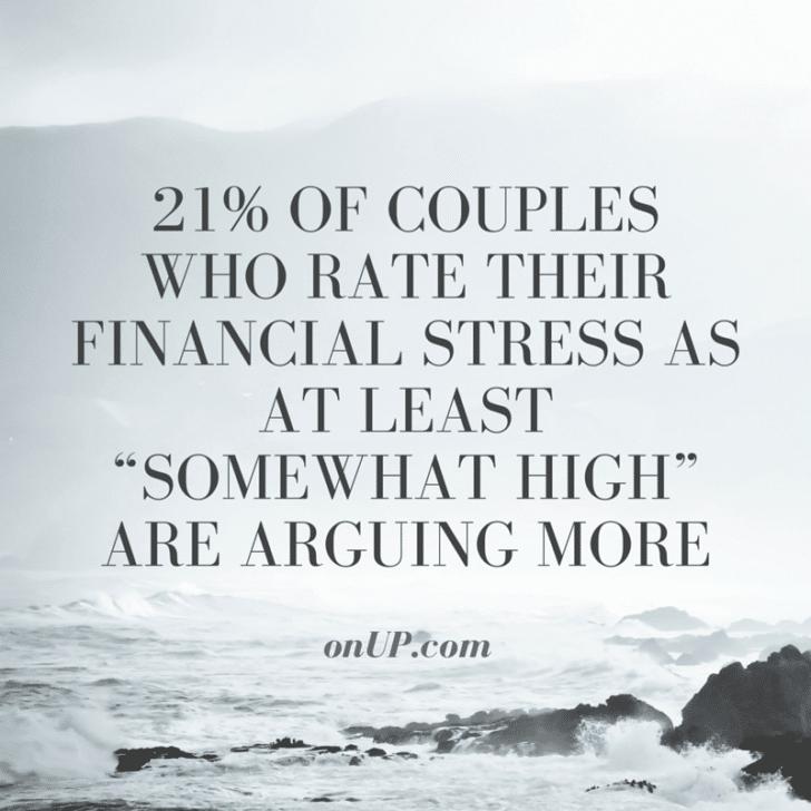 couple financial stress onup.com