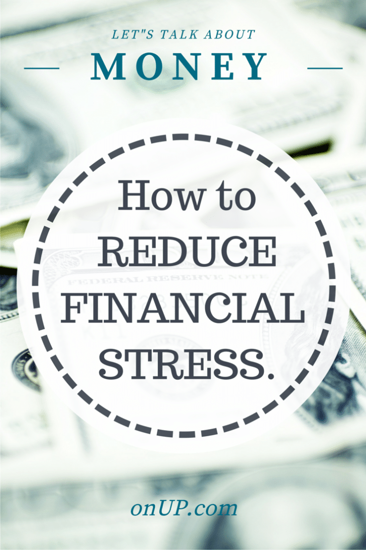 how to reduce financial stress