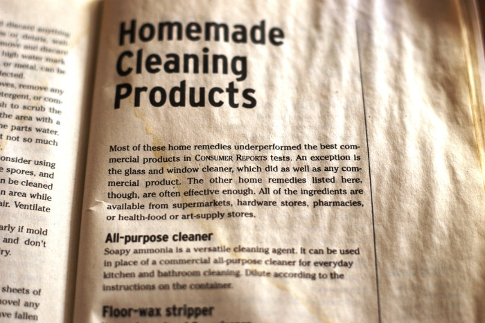 old homemade cleaning products - Consumer Reports Best Bathroom Cleaner