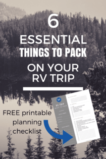 6 Essential Things To Pack For An RV Trip
