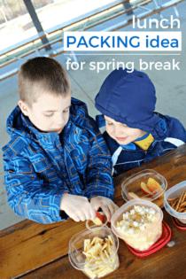 Easy Lunch Idea For Spring Break Adventures