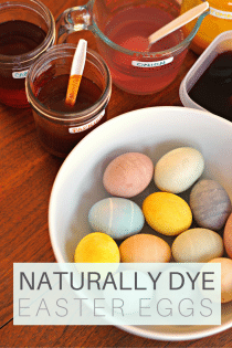 Naturally Dyed Easter Eggs With Beets, Onion, Cabbage and More