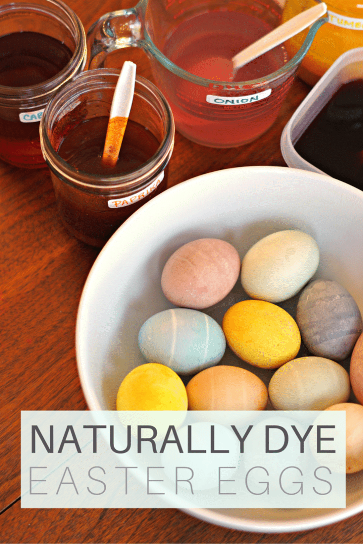 How To Naturally Dye Easter Eggs With Onion Cabbage Beats And More  Naturally Dyed Easter Eggs