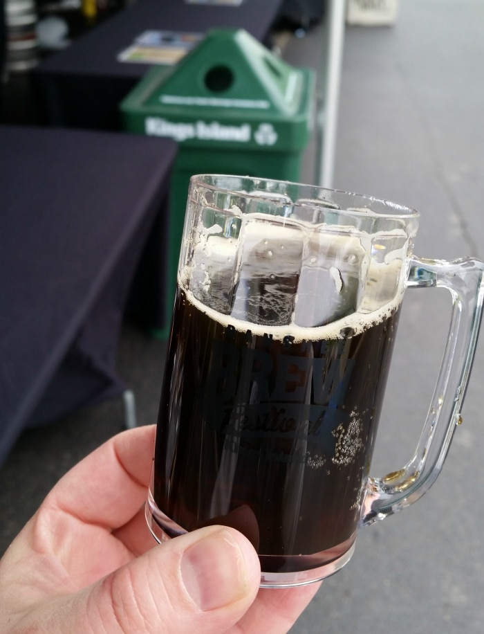 chocolate beer at banshee brew