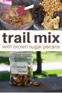 trail mix with brown sugar pecans