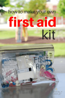 Homemade First Aid Kit