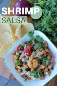 Easy Shrimp Salsa Recipe Dip with Avocado (1)