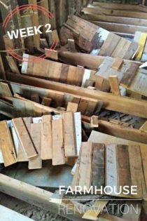 Farmhouse Renovation Week 2 (The Kitchen Demo & Electric Progress)
