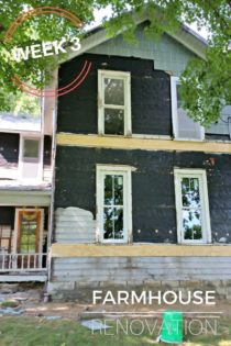 Farmhouse Renovation Week 3 (New Windows & Insulation) + BIA Parade of Homes Giveaway
