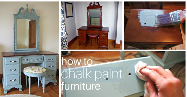 How To Chalk Paint Furniture Cleverly Simple 174 Recipes