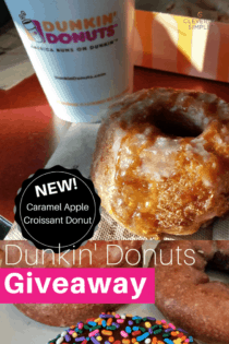 Donuts!  & A $25 Dunkin' Donuts Giveaway
