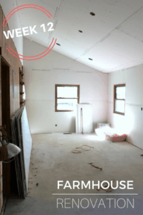 Farmhouse Renovation Week 12 (The Kitchen and Laundry Room)