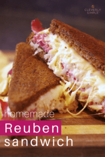 Grilled Reuben Sandwich Recipe with Homemade Dressing