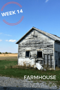 Farmhouse Renovation Week 14 (The History)