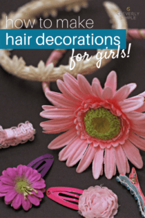 Homemade Hair Decorations for Girls
