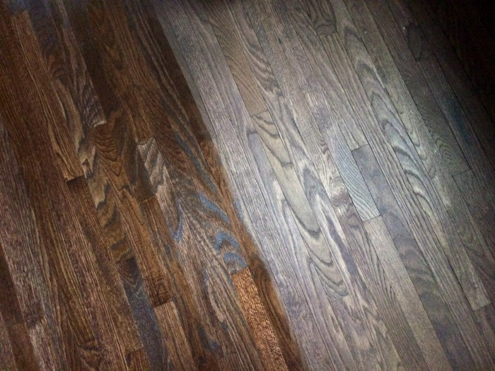 farmhouse-renovation-week-19-floors-stained-and-then-oil-poly
