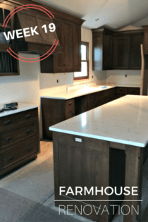 Farmhouse Renovation Week 19 (Countertops & Floors)