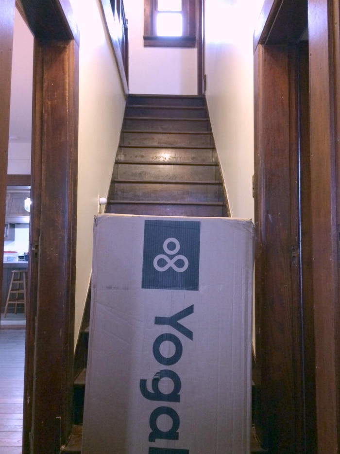 YogaBed in the box